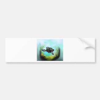 ウミガメ バンパーステッカー