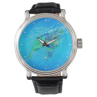 ウミガメ 腕時計