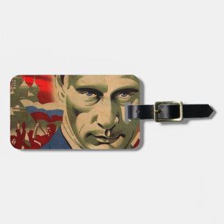 ウラジーミル・プーチン(Влади́мирПу́тин) ラゲッジタグ