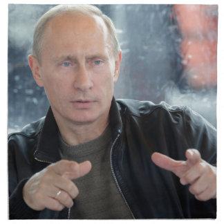 ウラジーミル・プーチン ナプキンクロス