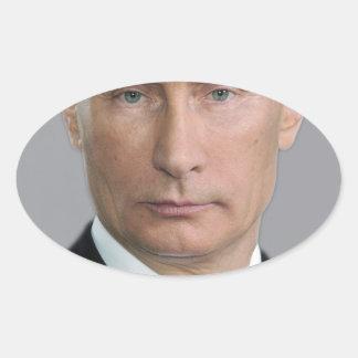 ウラジーミル・プーチン 楕円形シール