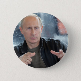 ウラジーミル・プーチン 5.7CM 丸型バッジ