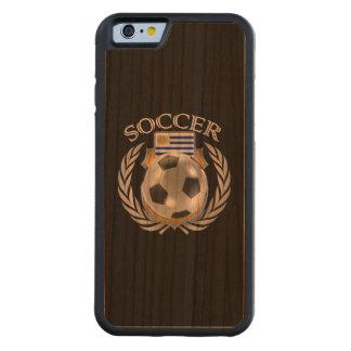 ウルグアイのサッカー2016ファンのギア CarvedチェリーiPhone 6バンパーケース