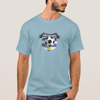ウルグアイのサッカーFutbol Tシャツ