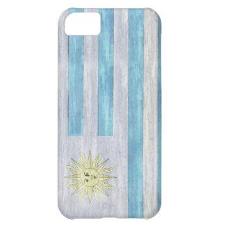 ウルグアイの動揺してな旗 iPhone5Cケース