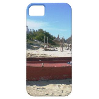 ウルグアイの古く赤いボート iPhone SE/5/5s ケース