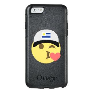 ウルグアイの帽子のキスEmoji オッターボックスiPhone 6/6sケース