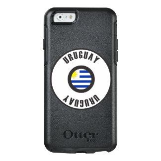 ウルグアイの旗のシンプル オッターボックスiPhone 6/6Sケース