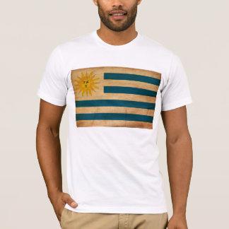 ウルグアイの旗のTシャツ Tシャツ