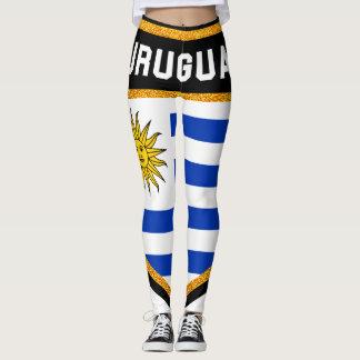 ウルグアイの旗 レギンス