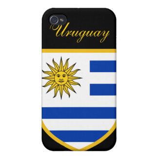 ウルグアイの美しい旗 iPhone 4 COVER
