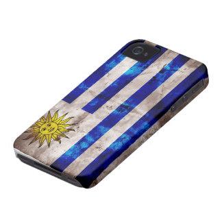 ウルグアイの風化させた旗 Case-Mate iPhone 4 ケース