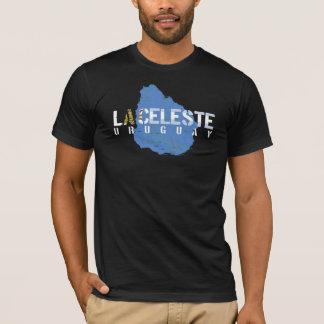 ウルグアイのLaのCelesteのティー Tシャツ