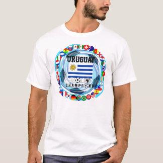 ウルグアイはワールドカップの2010年のTシャツに2挑みます Tシャツ