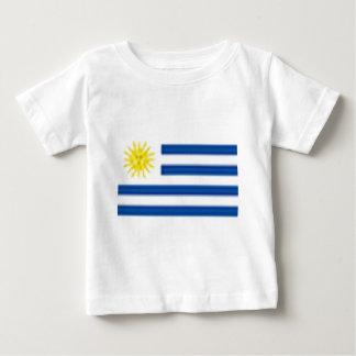 ウルグアイ ベビーTシャツ