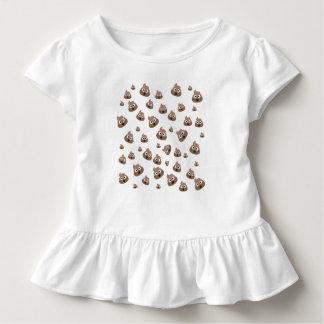 ウンチのEmojiかわいいパターン トドラーTシャツ