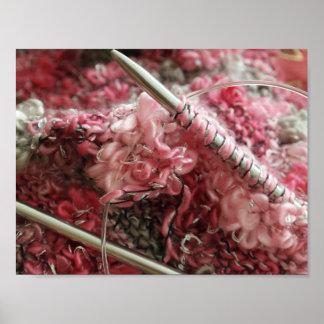 ウールと編むこと ポスター