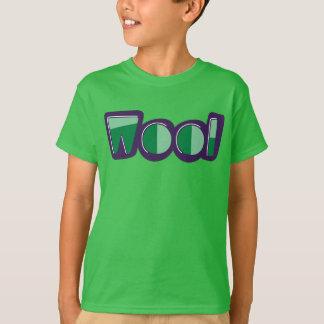 ウールのリヴァプールのおもしろいな方言のWirralのTシャツ Tシャツ