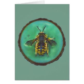 ウールのCarderの蜂 カード