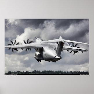 エアバスA400M ポスター