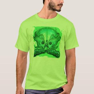 エアブラシで描かれる無鉛 Tシャツ