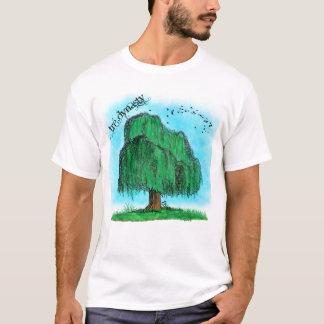 エアブラシの木 Tシャツ