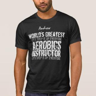 エアロビクスのインストラクターの世界で最も素晴らしいギフト09 Tシャツ