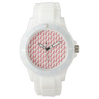 エイズの認識度の腕時計 腕時計