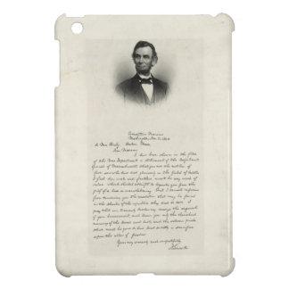 エイブラハム・リンカーンからの手紙 iPad MINI カバー