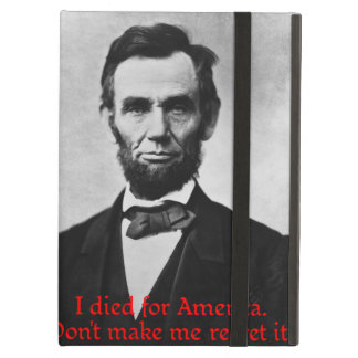 エイブラハム・リンカーンのアメリカのプライド iPad AIRケース