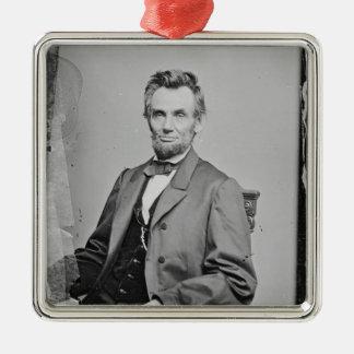 エイブラハム・リンカーンのオーナメント1860-1865年 メタルオーナメント