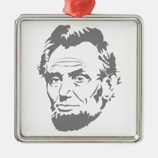 エイブラハム・リンカーンのオーナメント メタルオーナメント