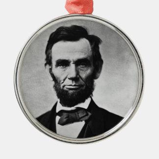 エイブラハム・リンカーンのクリスマスのオーナメント メタルオーナメント