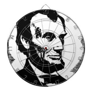 エイブラハム・リンカーンのスケッチ ダーツボード
