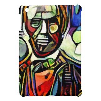 エイブラハム・リンカーンのデジタルカラフルな絵画 iPad MINIケース
