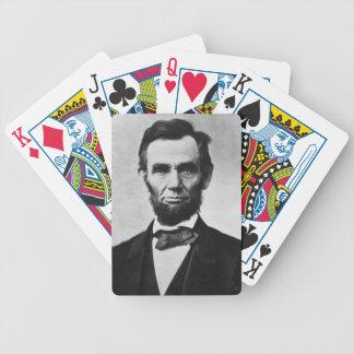 エイブラハム・リンカーンのトランプ バイスクルトランプ
