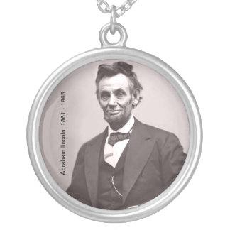 エイブラハム・リンカーンのネックレス シルバープレートネックレス