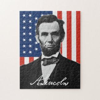 エイブラハム・リンカーンのパズル ジグソーパズル