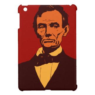エイブラハム・リンカーンのベクトル芸術の詳細の赤 iPad MINI カバー