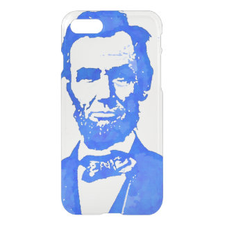 エイブラハム・リンカーンのポップアートのポートレート iPhone 8/7 ケース