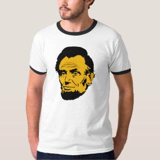 エイブラハム・リンカーンのポップアートのTシャツ Tシャツ