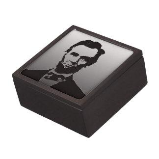 エイブラハム・リンカーンのポートレートのギフト用の箱 ギフトボックス