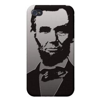 エイブラハム・リンカーンのポートレートのiPhone 4/4sの場合 iPhone 4 カバー