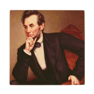 エイブラハム・リンカーンのポートレート ウッドコースター