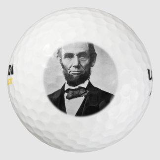 エイブラハム・リンカーンのポートレート ゴルフボール