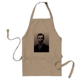 エイブラハム・リンカーンのポートレート スタンダードエプロン