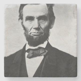 エイブラハム・リンカーンのポートレート ストーンコースター