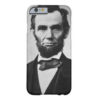 エイブラハム・リンカーンのポートレート BARELY THERE iPhone 6 ケース