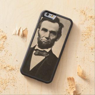 エイブラハム・リンカーンのポートレート CarvedメープルiPhone 6バンパーケース