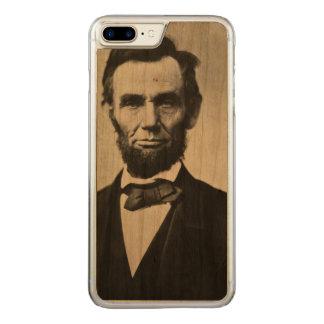 エイブラハム・リンカーンのポートレート CARVED iPhone 8 PLUS/7 PLUS ケース